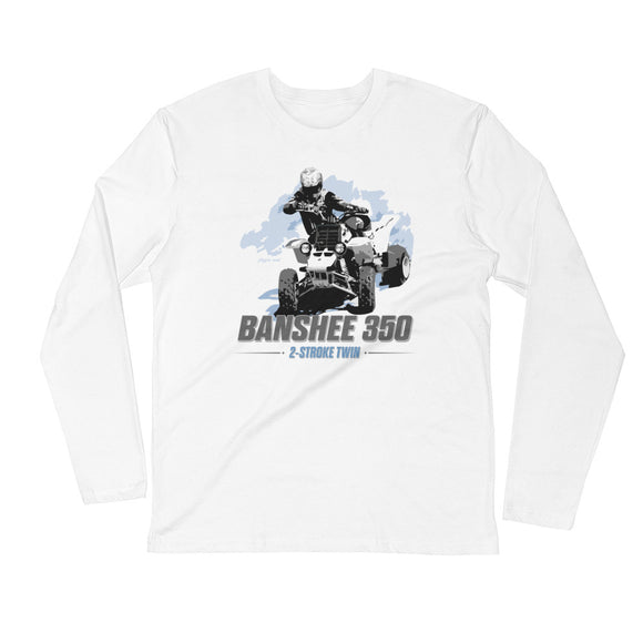 Banshee 350 - Long Sleeve Fitted Crew