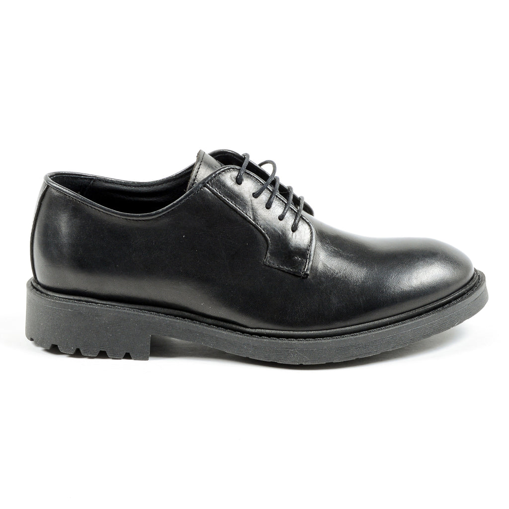 Andrew Charles Mens Lace Up Sko Svart JIMI
