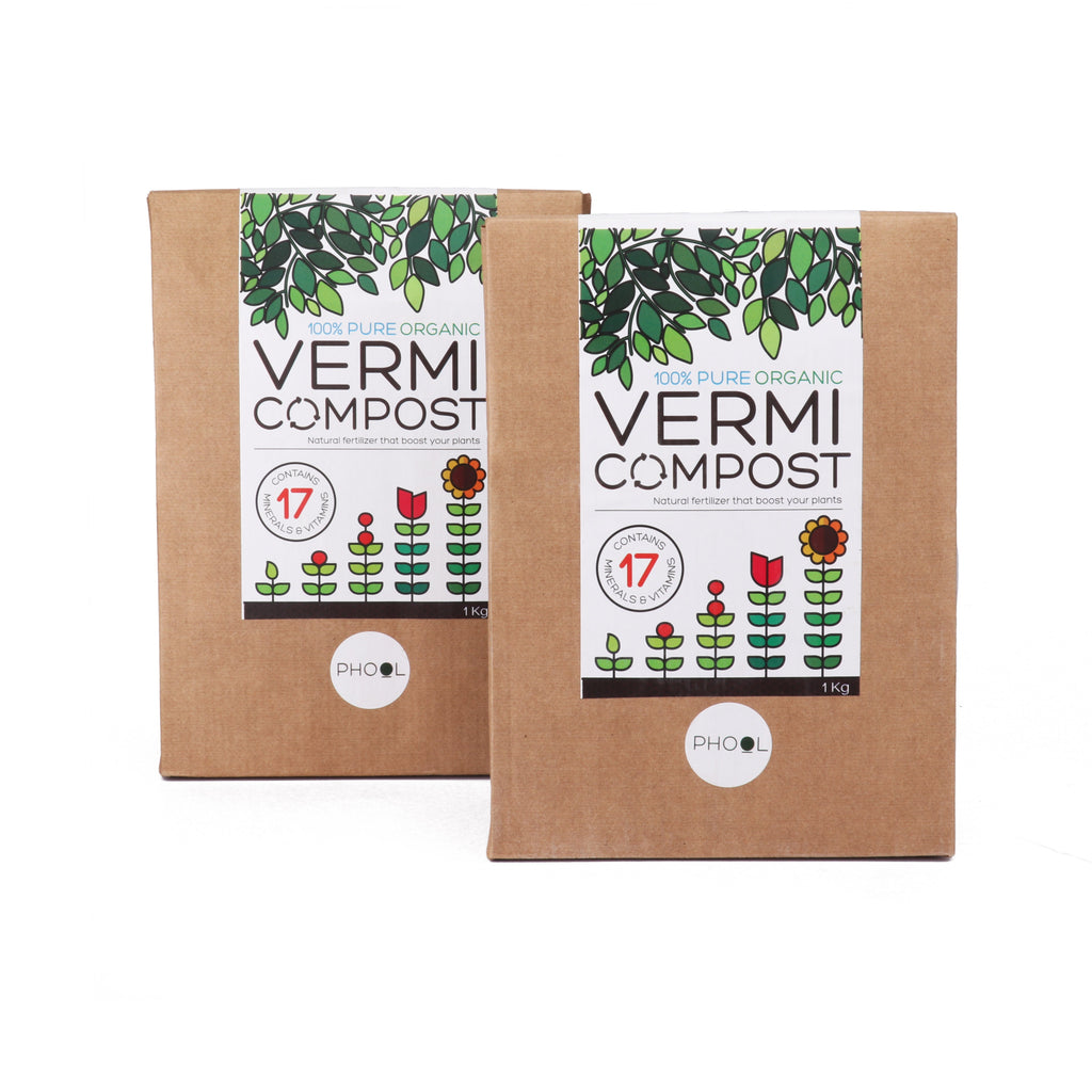 Phool Natural Vermicompost 1 Kg pack