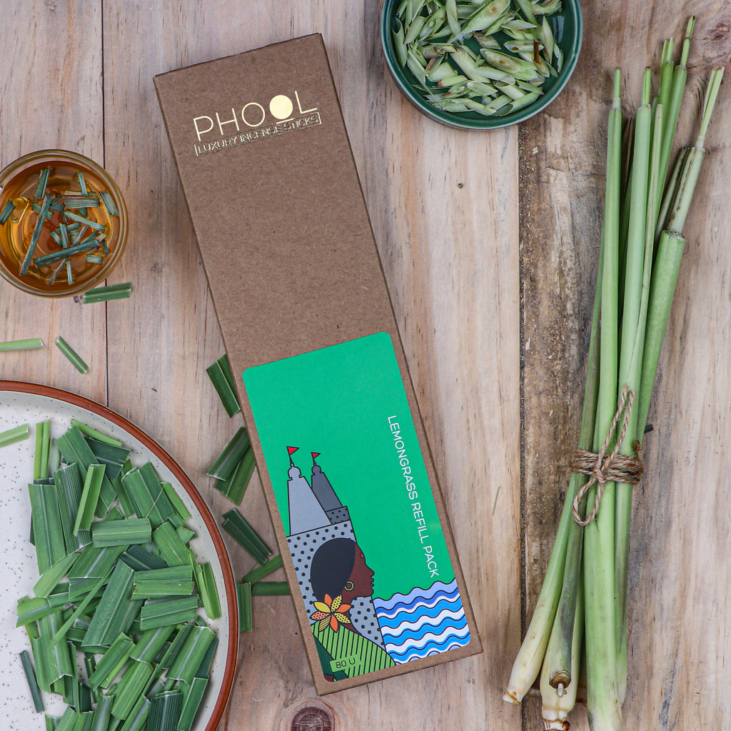 Phool Natural Incense Sticks Refill pack - Lemongrass