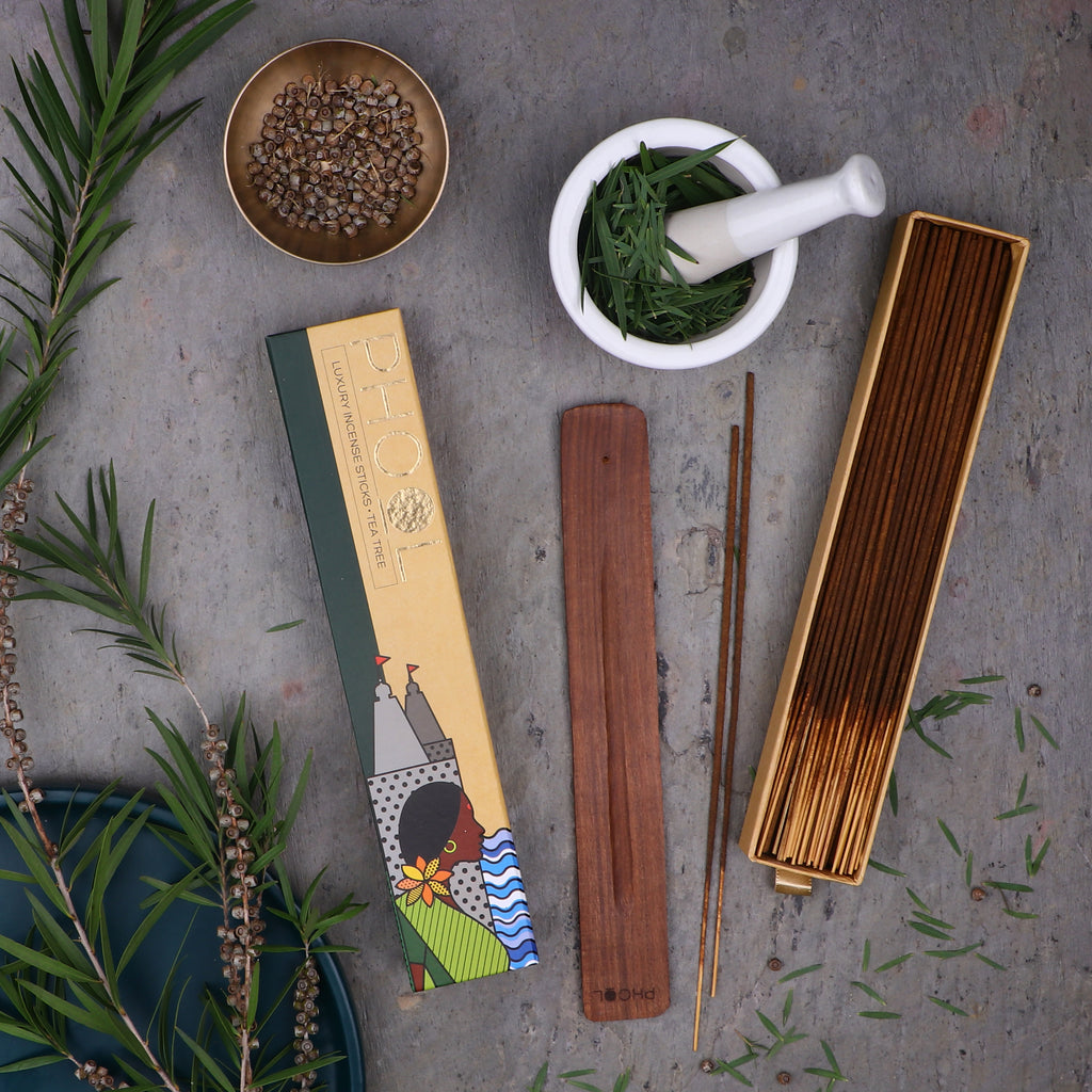 Phool Natural Incense Sticks - Tea Tree