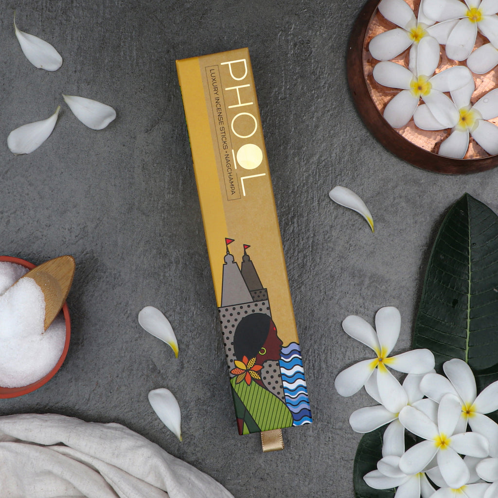 Phool Natural Incense Sticks - Nagchampa