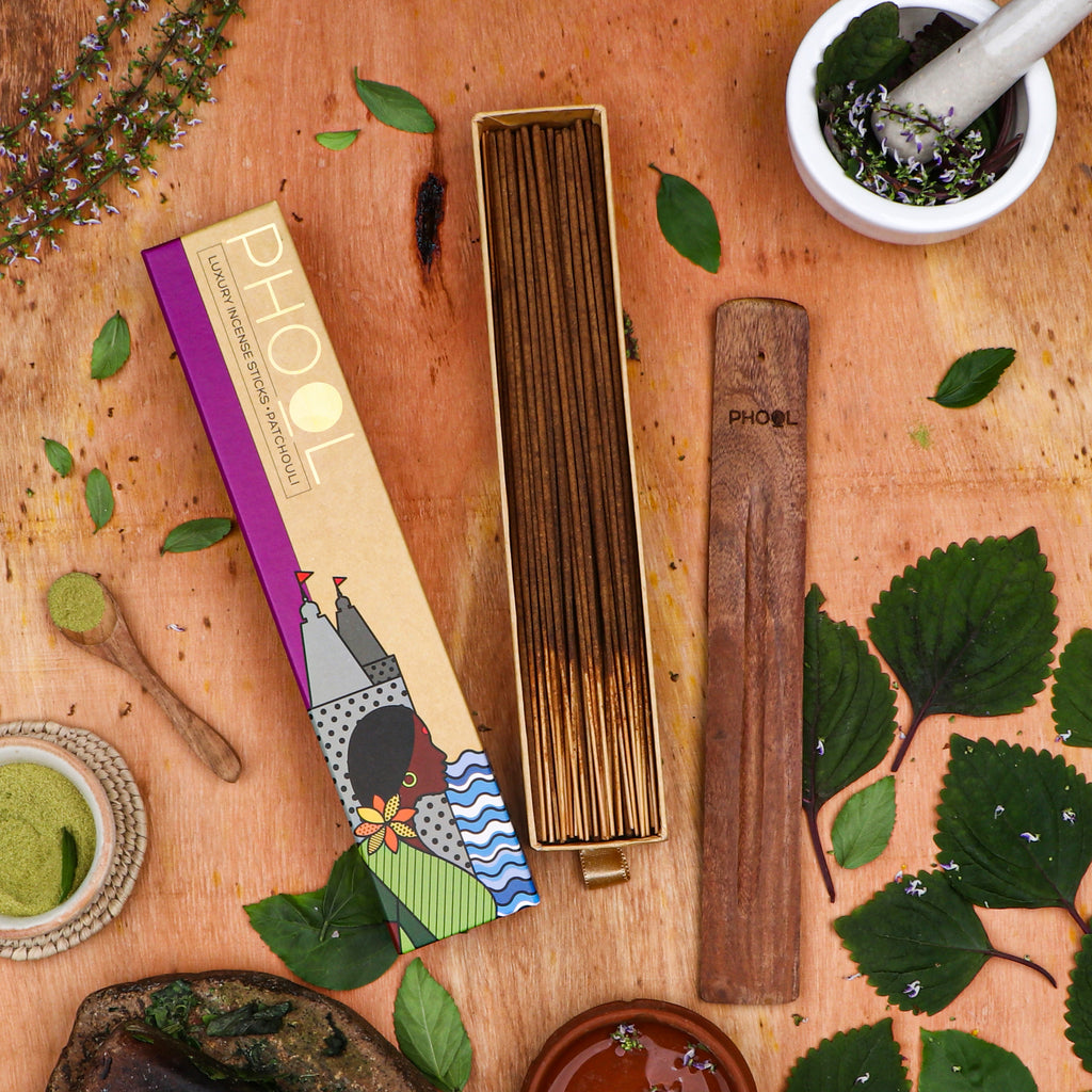 Phool Natural Incense Sticks - Patchouli