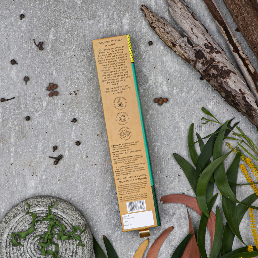 Phool Natural Incense Sticks - Eucalyptus