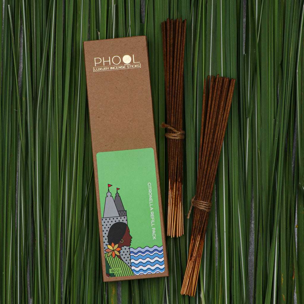 Phool Natural Incense Sticks Refill pack - Citronella
