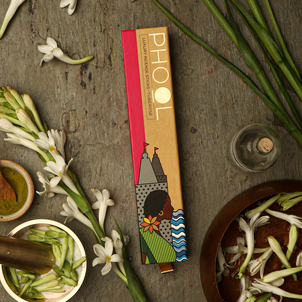 Phool Natural Incense Sticks - Tuberose