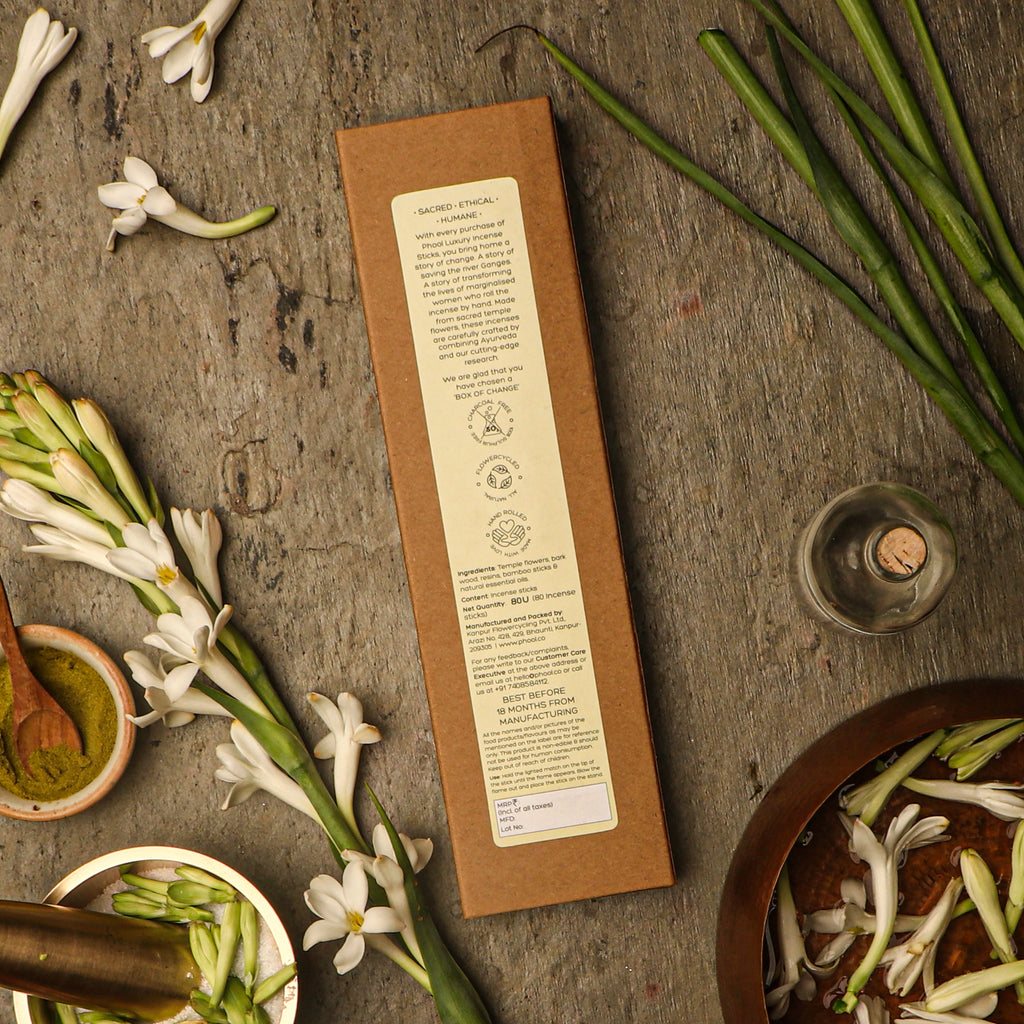 Phool Natural Incense Sticks Refill pack - Tuberose