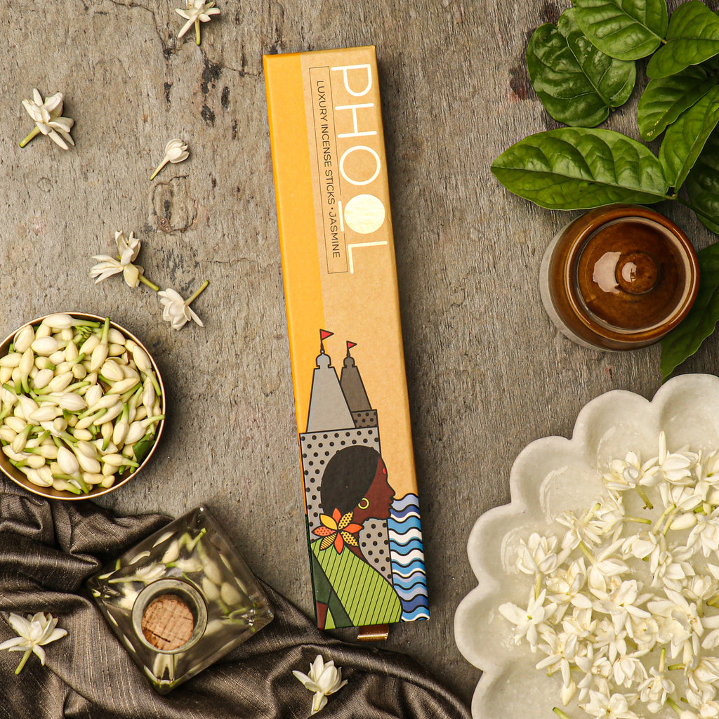Phool Natural Incense Sticks - Jasmine