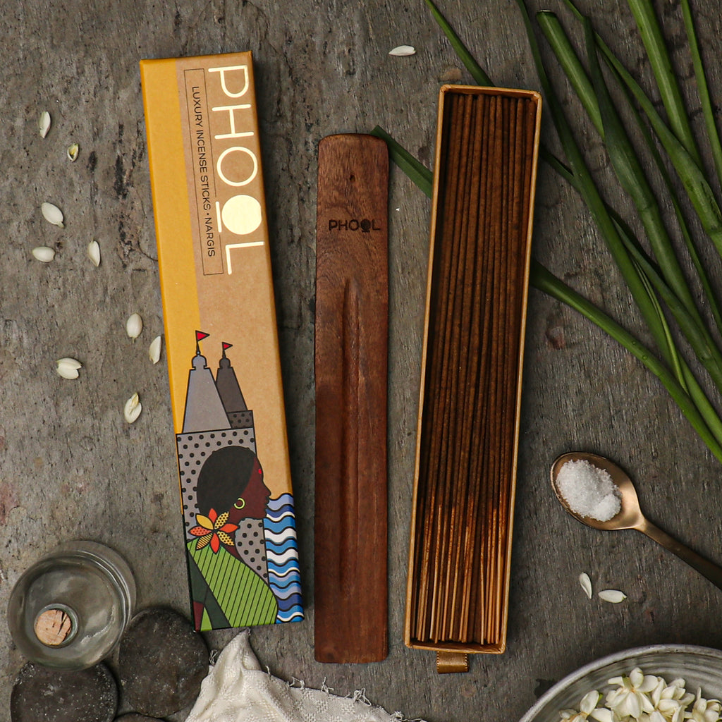 Phool Natural Incense Sticks - Nargis