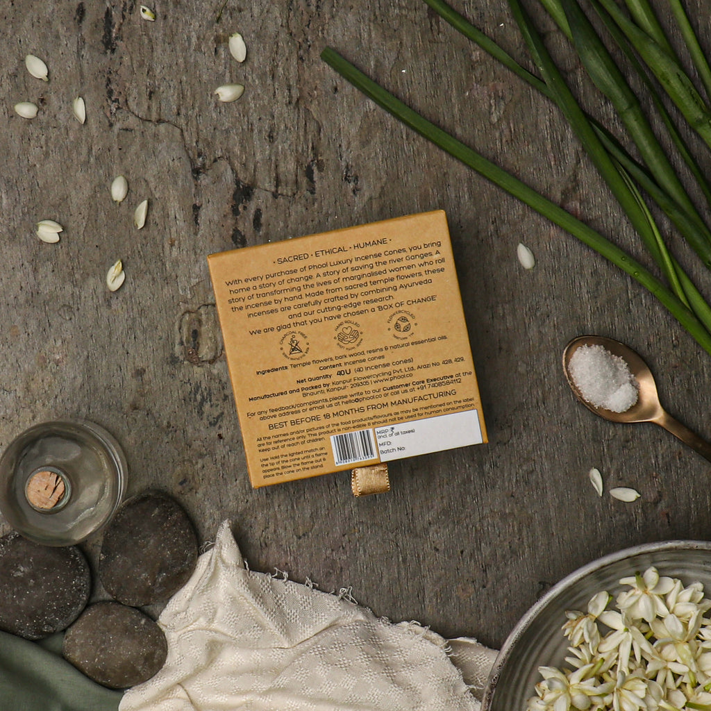 Phool Natural Incense Cones - Nargis