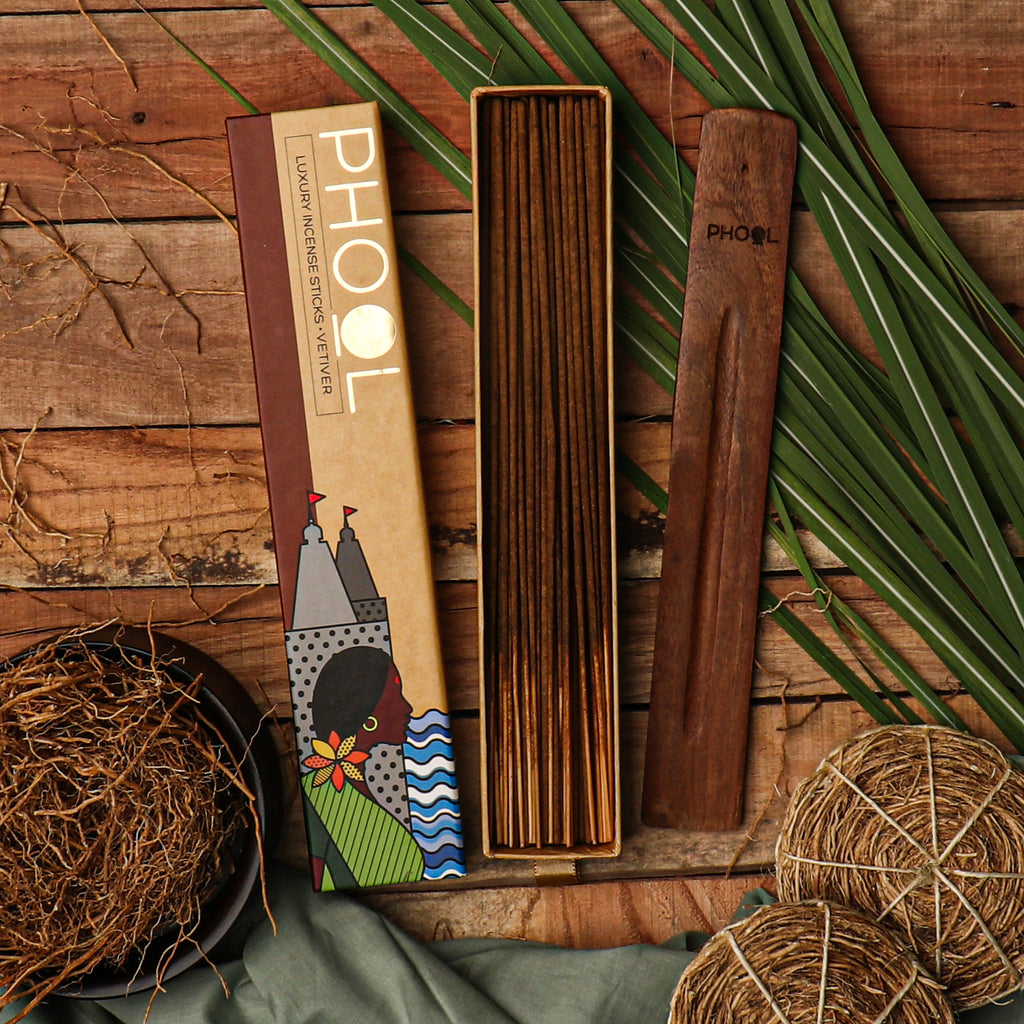 Phool Natural Incense Sticks - Vetiver