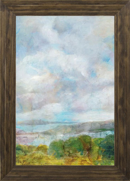 Spring Meadow  - Landscape by Theodosiou, Matina in a Ponderosa Saddle frame
