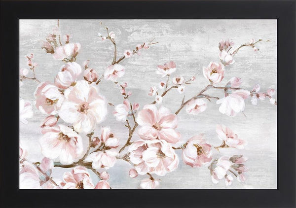 Spring Cherry Blossoms I  - Abstract by Watts, Eva in a Studio Black frame