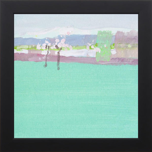 The Early Spring - Abstract Landscape Contemporary by Nekraha, Igor in a Studio Black frame