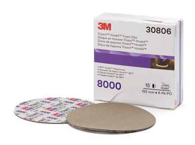 "3M Perfect-It 1-Step 6"" Hookit, Quart Compound, 8000g Abrasive Kit"
