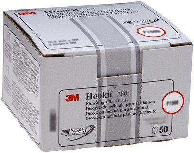 """Pack of 5 Hook /& Loop Hookit Attachment Buffing Pads 127mm 3M Finesse-It 5/"""""""