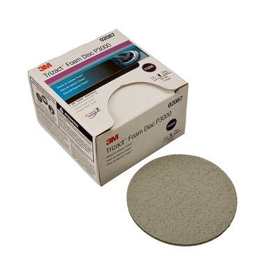 "3M Perfect-It Trizact Foam Disc 3"", 6"", 3000, 5000, 8000 grit - Box of 15"