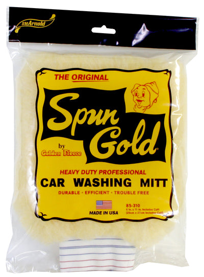 SM Arnold Spun Gold Car Wash Pad with Cuff