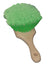 SM Arnold Green Flagged Body and Tire Dressing Brush
