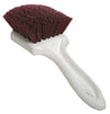 "Sm Arnold Carpet, Upholstery & Floor Mat Brush 8.5"" Burgundy Bristle"