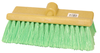 "Sm Arnold Brush 10"" Bi-Level Green Truck/Rv Wash Brush"