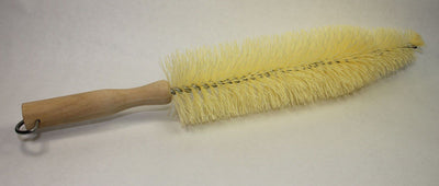 Hi Tech 17'' Spoke Brush Wood Handle