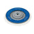 RUPES Random Orbital Backing Plate, 150mm 6in Velcro, M8 Bolt, Blue Ring