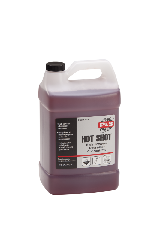P&S Hot Shot Biodegradable Power Degreaser Concentrate Gallon