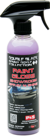 P&S Double Black Paint Gloss Showroom Spray N Shine Pint