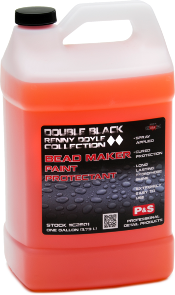 P&S Double Black Bead Maker Paint Protectant Gallon w/ Bottle & Trigger