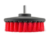 SM Arnold Carpet Brush with Drill Attachment Heavy Duty Red Bristle