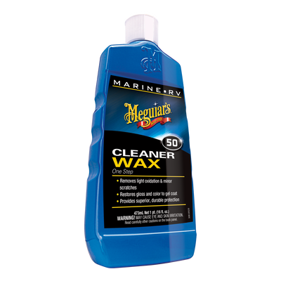 Meguiar's #50 Marine Boat RV Cleaner Wax
