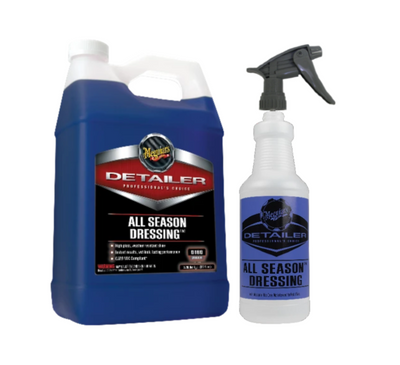 Meguiar's D160 Detailer All Season Dressing Gallon w/ Bottle & Sprayer