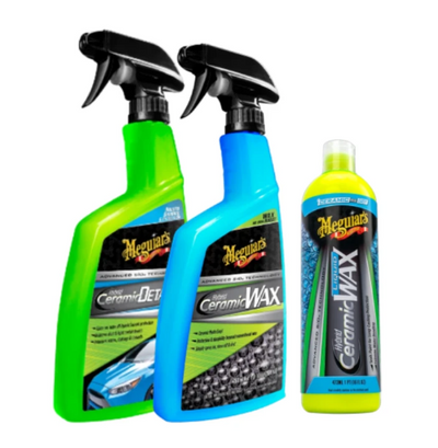 Meguiar's Hybrid Ceramic Wax Set of 3