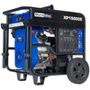 DuroMax XP15000E 15000 Watt V-Twin Gas Powered Electric Start Portable Generator