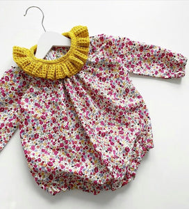 Rosebud Betsy romper  (Ready to post)