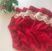 Ruby Velvet bloomers  (Ready to post)