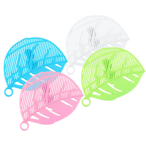 1PC Durable Clean Leaf Shape Rice Washer