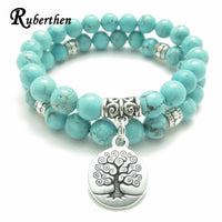 Tree of Life jewelry - Yoga Mala Bracelet