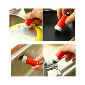 Magic Stainless Cleaning Brush Useful In Kitchen