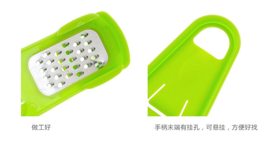 Multi Functional Ginger/Garlic Press Grinding/ Slicer/ Mini Cutter