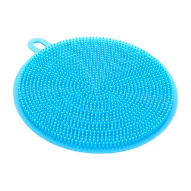 Multi Function Silicone Dish/Bowl Magic Cleaning Brush