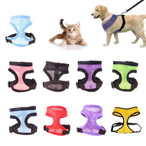 1pc Nylon Breathable Harness for Small Dog/Puppy/Cat