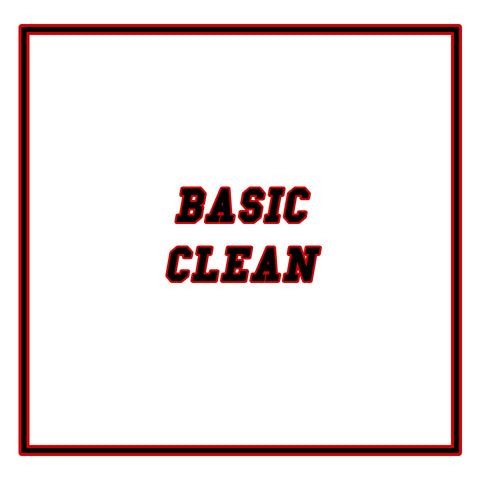 Basic Clean - Drop Off