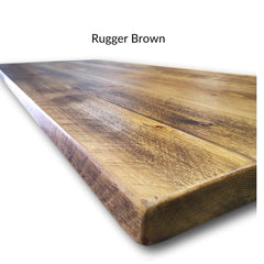 Rugger brown wax