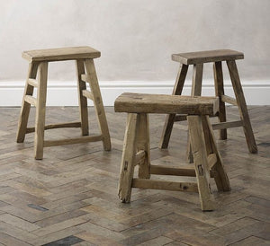 Rustic Stools & Benches