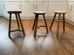 Example round stool side view