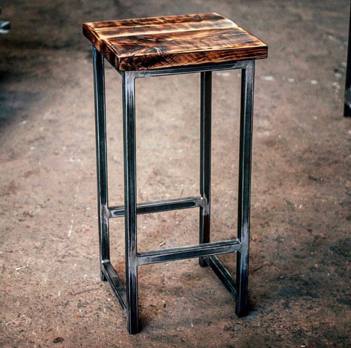 Cruach - Industrial Bar Stool backless (2881528791104)