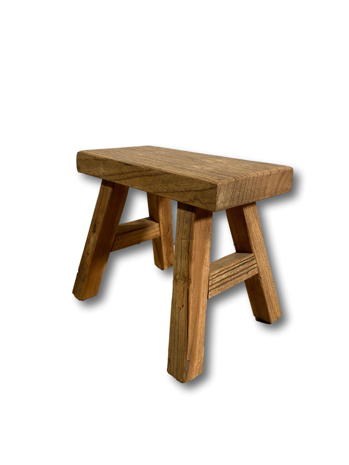 Miniature Old Barn Rustic Stool - 3 Sizes Available