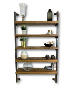 Industrial Box Section Shelving Unit - Wall Mounted (4630988488759)